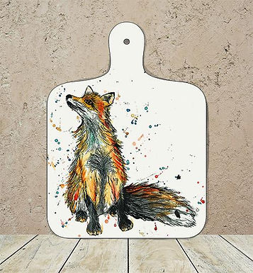 Fox Small Chopping Board