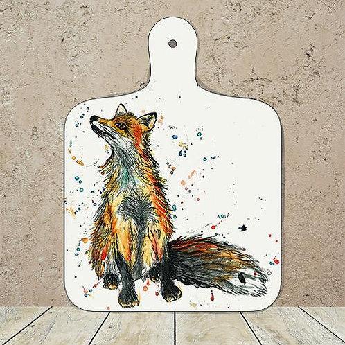 Fox Small Chopping Board
