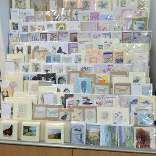 Handmade and Local Artist Cards