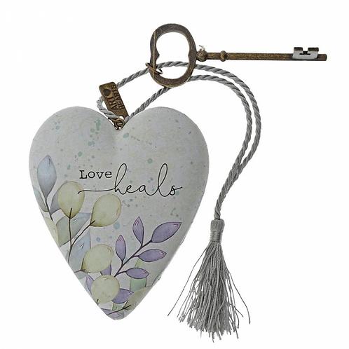 Love Heals Art Heart
