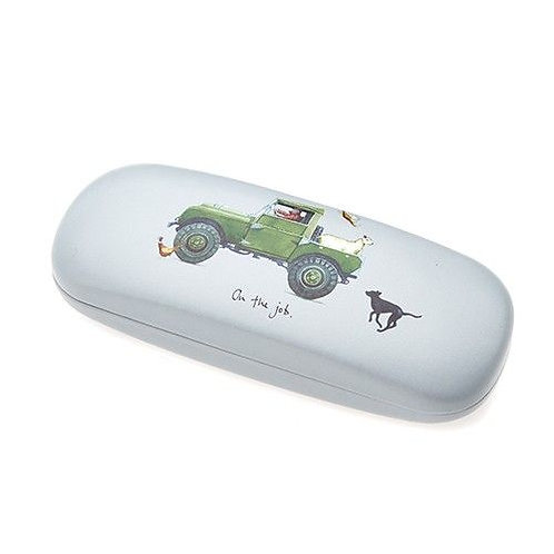 'On the Job' Landrover Glasses case