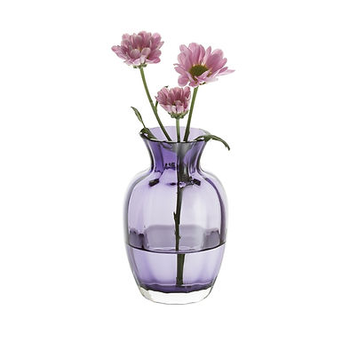 Little Treasures - Amethyst Optic Vase