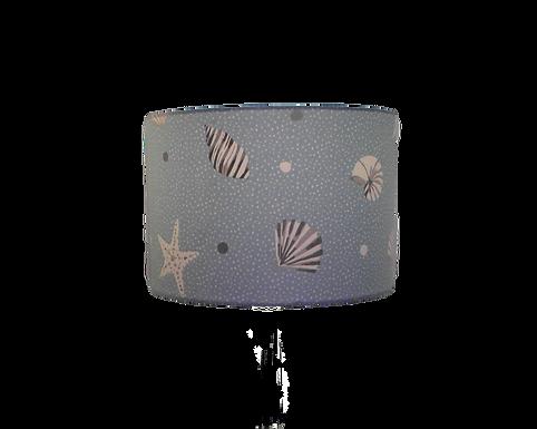 Seashells Blue Beach Themed Handmade Lampshade