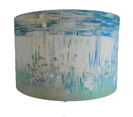 Seaside Wildflower Vista 40cm Drum Shade
