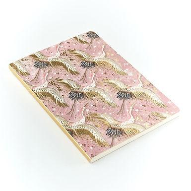 Opium Cranes A5 Notebook