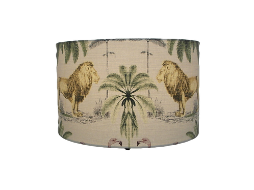 Longleat Lions Handmade Lampshade