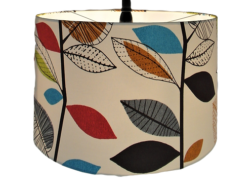 Autumn Leaves Drum Lampshade