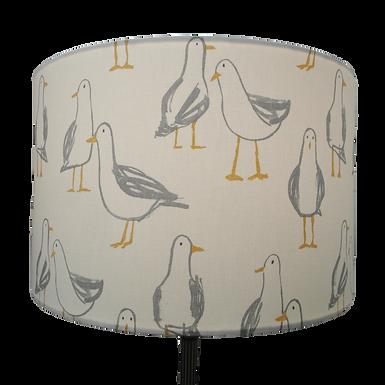 Seagull Design Handmade Lampshade, Drum, Empire or Hexagon Shapes