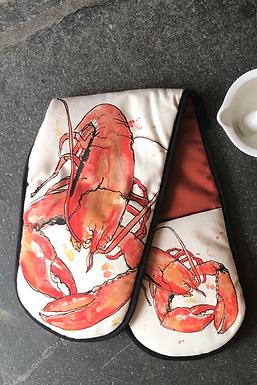 Red Lobster Oven Gloves