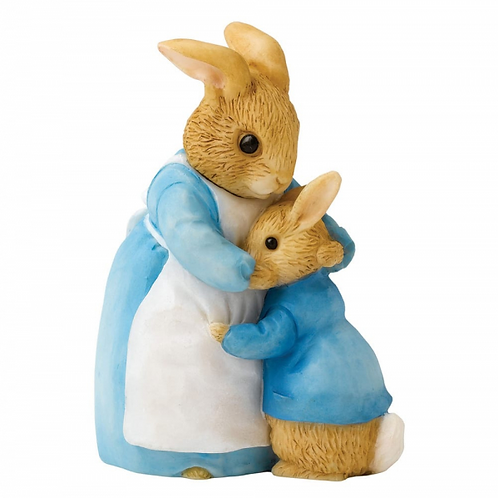 Beatrix Potter, Mrs Rabbit and Peter Mini Figure