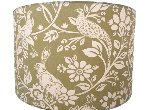 Hare and Pheasant Design Shade, Drum or Empire Shapes available