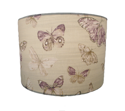 Clearance Butterflies, 30cm Handmade Lampshade