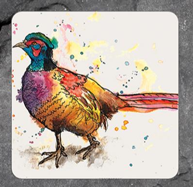 Pheasant Coaster