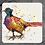 Thumbnail: Pheasant Coaster