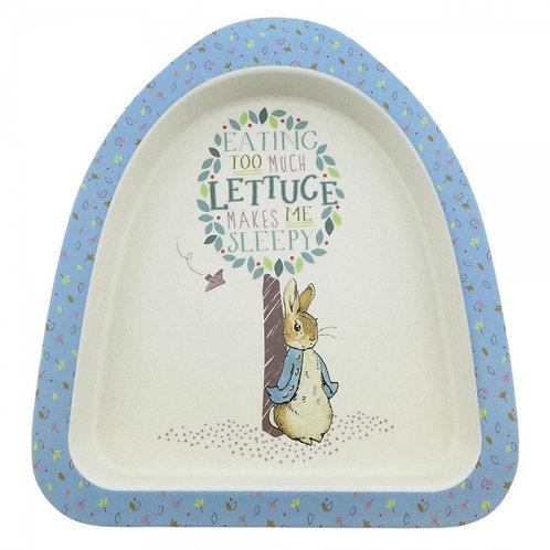Peter Rabbit Organic Bamboo Children's Plate