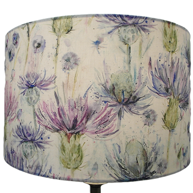 Voyage Maison Eileen Donan Thistle Lampshade, Drum or Empire Shapes