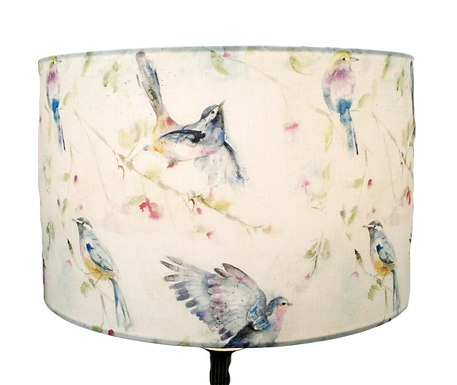 Voyage Maison Spring Flight Handmade Drum Lampshade, Available in two sizes
