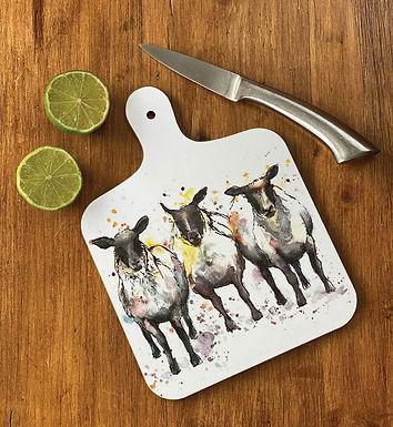 Sheep Small Chopping Board