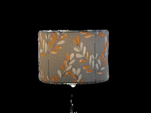 Clearance Scandi Sprig Tangerine Handmade Lampshade