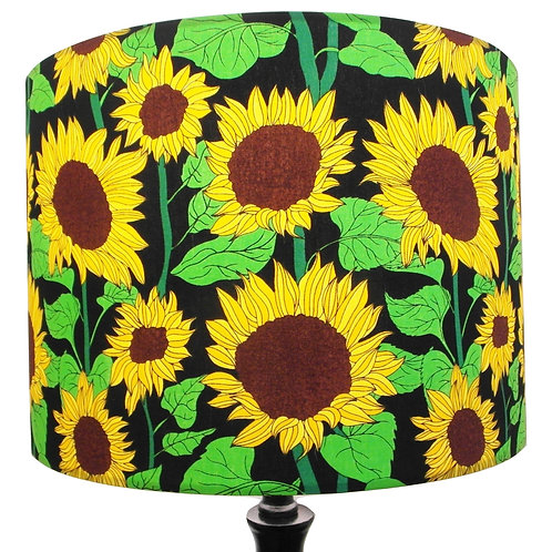 Bright Sunflowers Shade, Drum or Empire Shapes