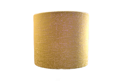 Yellow Texture Handmade Lampshade, Drum or Empire Shapes