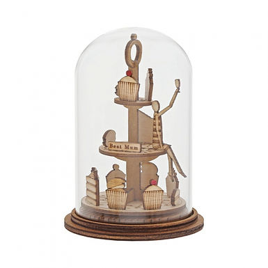 Best Mum Figurine, Kloche Tiny Town