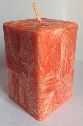 Peach ECO Candle 3x3x3.5