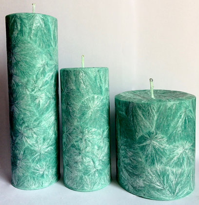 3x Jade ECO Candles