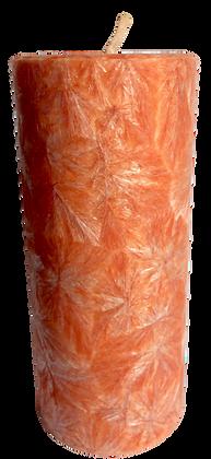 Peach ECO Candle 2x4.5
