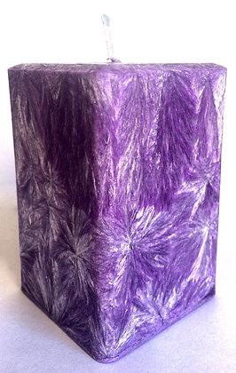 Purple ECO Candle 3x3x3.5