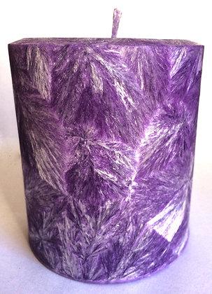 Purple ECO Candle 3x3.5