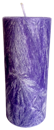 Violet ECO Candle 2x4.5