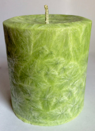 Lemon Green ECO Candle 3x3.5