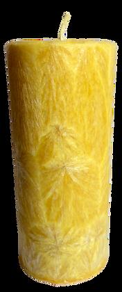 Yellow ECO Candle 2x4.5