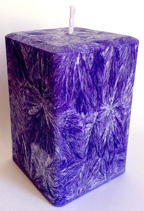 Violet ECO Candle 3x3x3.5