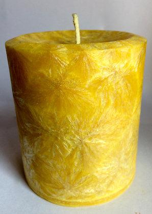 Yellow ECO Candle 3x3.5