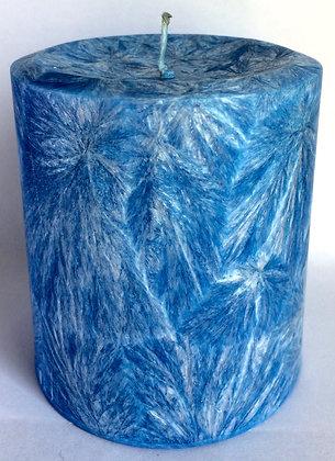 Royal Blue ECO Candle 3x3.5