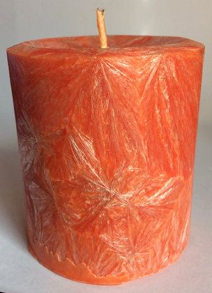 Peach ECO Candle 3x3.5