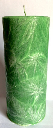 Grass Green ECO Candle 2x4.5