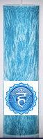 "ECO Palm Wax Candle - 6.5""x 2""- Throat Chakra - Blue"