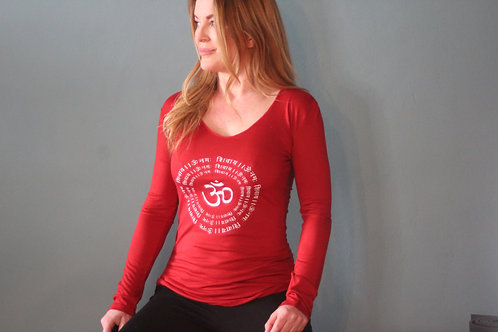 Yogashirt OM