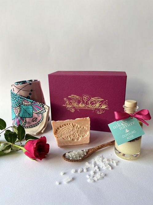 Pink Rosen Box