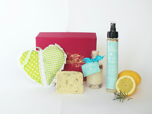 Fresh & Happy mit Herz Box