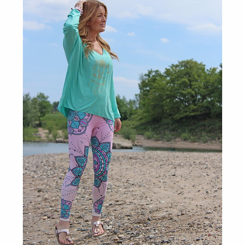 Leggings Pink Mandala