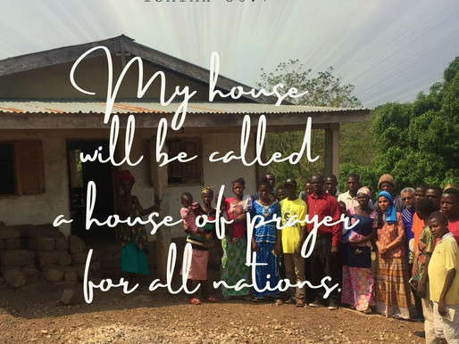 HOUSE OF PRAYER FOR ALL NATIONS