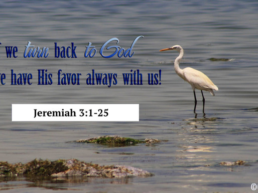 COME BACK TO GOD!