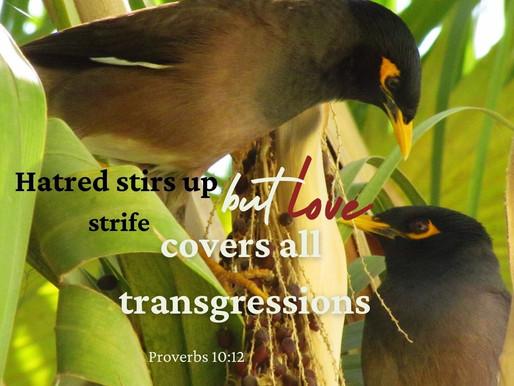 A LOVE THAT FORGIVES!