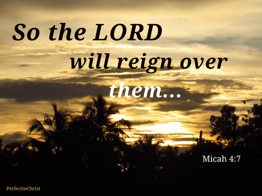 Accept the Lord's Reign over you!