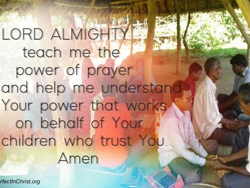 PRAYER- A WEAPON