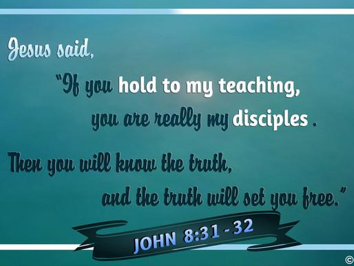 A TRUE DISCIPLE OF JESUS CHRIST